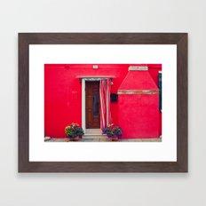 Burano Island IX Framed Art Print