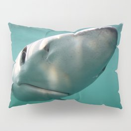 Blue Shark Pillow Sham