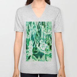 491 - Abstract Water design Unisex V-Neck