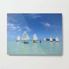 Sailing Day Metal Print