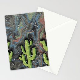 Desert Nights Stationery Cards