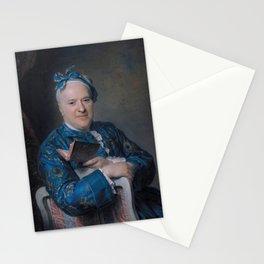 Maurice-Quentin de La Tour - Portrait of Pierre-Louis Laideguive Stationery Cards