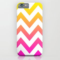 PINK & YELLOW CHEVRON FADE Slim Case iPhone 6s