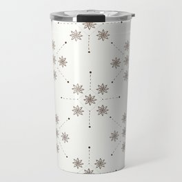 Floral Constellation (XL) Travel Mug