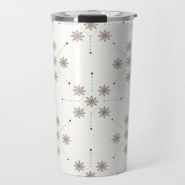Floral Constellation (XL) Travel Mug