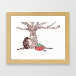 Tree Love Framed Art Print