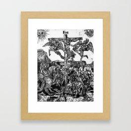 Hemmorrhage Framed Art Print