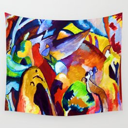 Wassily Kandinsky Improvisation XIX Wall Tapestry