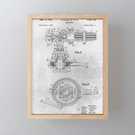 Helicopter Framed Mini Art Print
