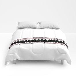 Teeth. Comforters