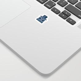 Write Write Write (Space) Sticker