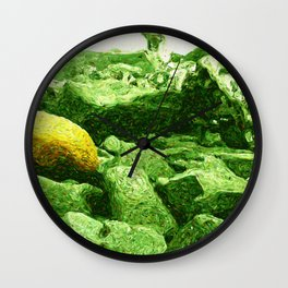 Among the Discarded Wall Clock