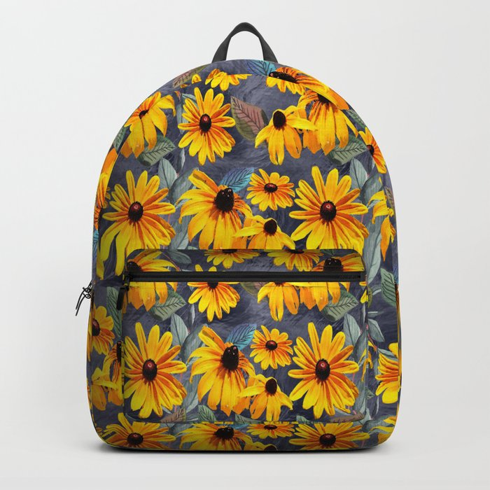 Black-eyed Susan Pattern Backpack