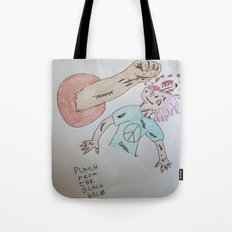 Punch to the Face!!! Tote Bag