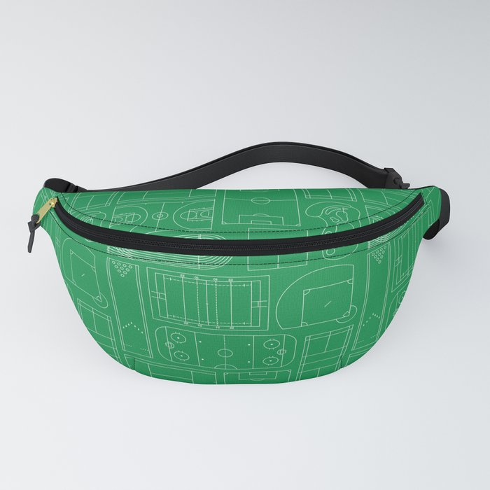 Sport Courts Pattern Art Fanny Pack