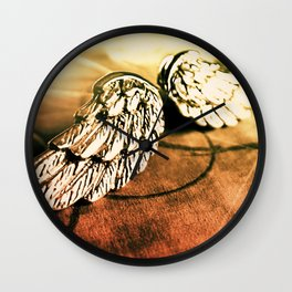 The Angel Has Landed Wall Clock