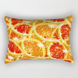 Snow citrus Rectangular Pillow