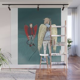 Heaven and Hell Wall Mural