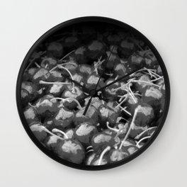 cherries pattern hvhdbw Wall Clock