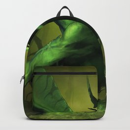 Very Fearsome Green Powerful Giant Angry Dragon Ultra HD Backpack
