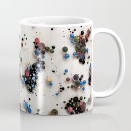 Abstract background from acrylic paints and oil Coffee Mug