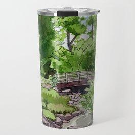Little Confederation Park Bridge Travel Mug