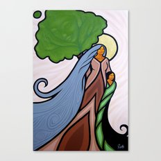 She's In The Wind Canvas Print