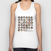 robert downey jr Tank Tops featuring Robert Downey Jr. by Lady Cibia