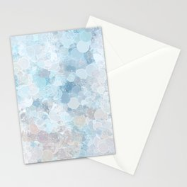 Graffiti dream - blue and nude Stationery Cards