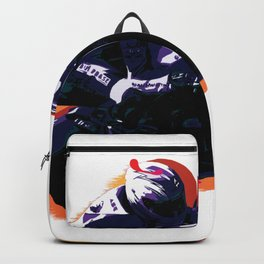 High Speed Motorcycle Racer Backpack