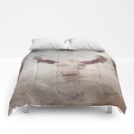 Car Part Cow Skull Comforters