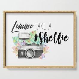 Lemme Take a #Shelfie Serving Tray