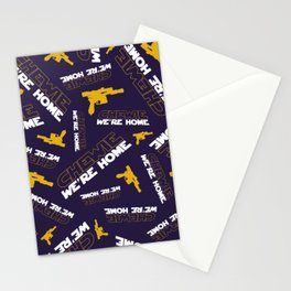 Chewie We're Home Pattern Stationery Cards