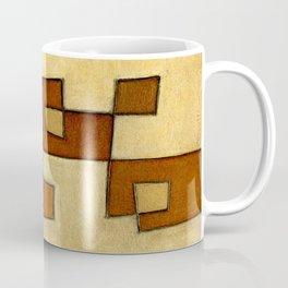 Protoglifo 01 'brown yell' Coffee Mug