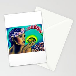 Walk in the Light of Lyme Stationery Cards