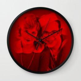 Harold Lloyd & Mildred Davis - Celebrity (Photographic Art) Wall Clock