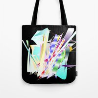band Tote Bags featuring Jazz Band by Nancy Smith