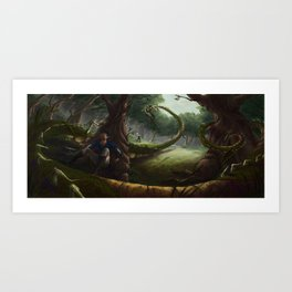 Cowardice Art Print
