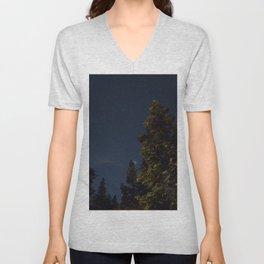 Starry Trees Unisex V-Neck