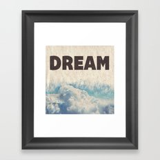 Dream Framed Art Print