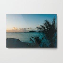 Antigua Sunset Metal Print