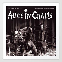 alice in chains album 2020 atinum4 Art Print