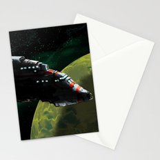 Starliner Spaceship Stationery Cards