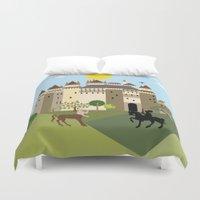 castle Duvet Covers featuring castle  by Design4u Studio