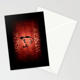 Arsene Wegner Stationery Cards