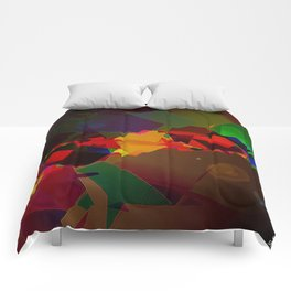 The happiness is not in the research for the perfection, but in the tolerance of the imperfe Comforters