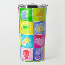 Rainbow Charms Travel Mug