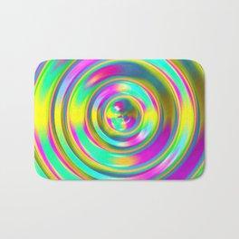Pastel Swirl Bath Mat
