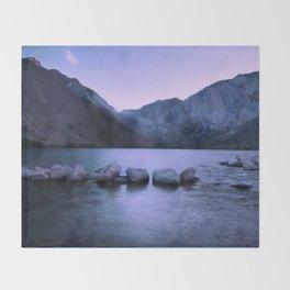 Convict Lake Throw Blanket