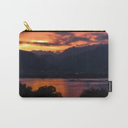 Locarno and Ascona at sunset Carry-All Pouch